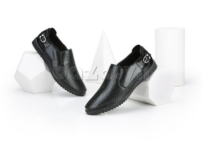 Giày Olunpo OP001 màu đen sang trọng