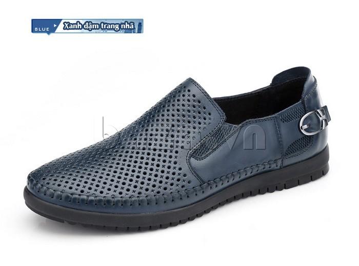 Giày Olunpo OP001 xanh đậm trang nhã
