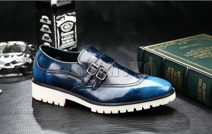 Giầy da nam thời trang Olunpo QEY1301 là giày cưới độc đáo