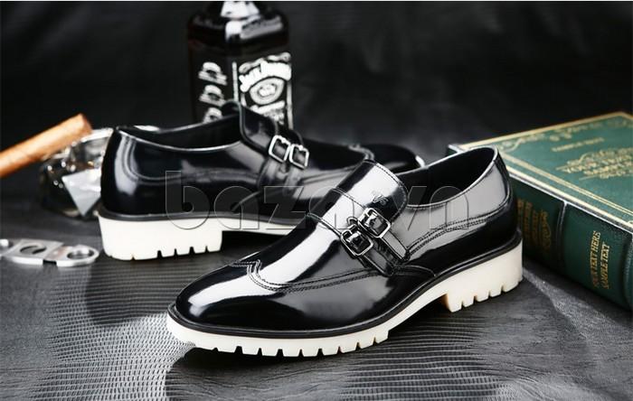 Giầy da nam thời trang Olunpo QEY1301 được nhiều nam giới yêu thích