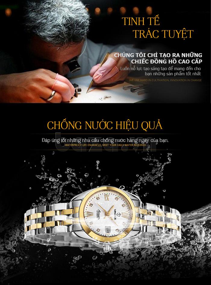 Đồng hồ thời trang nữ Vinoce V-8079G thuộc dòng đồng hồ cao cấp