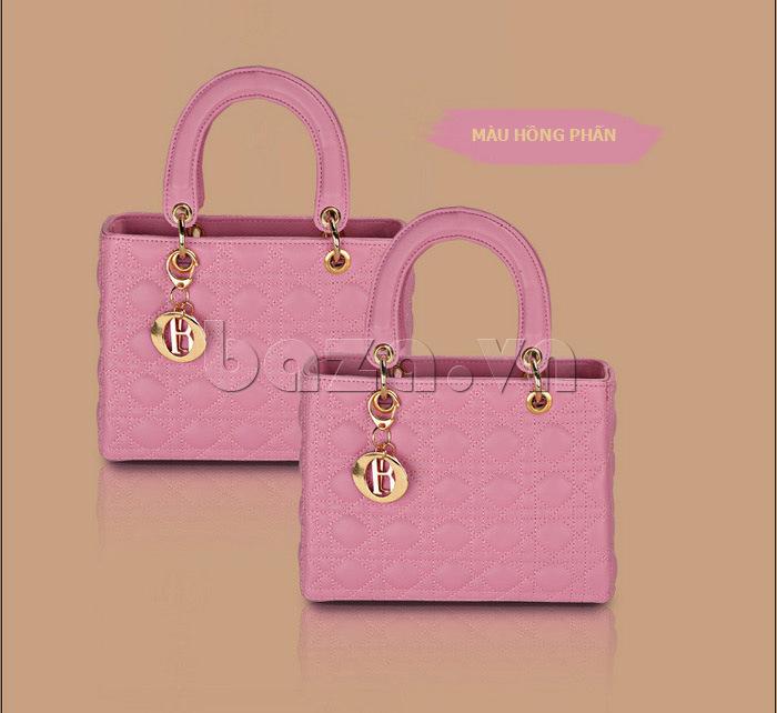 Túi xách nữ Balana 108 màu hồng phấn