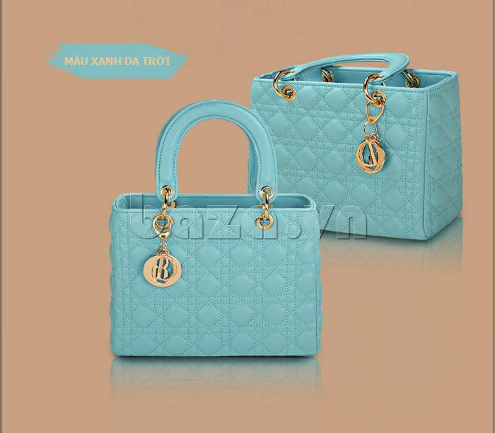 Túi xách nữ Balana 108 màu xanh da trời
