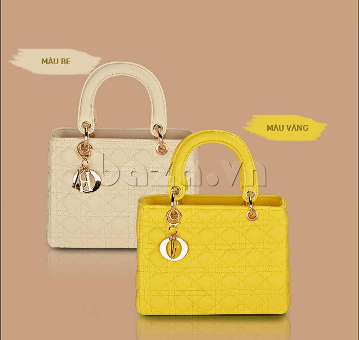 Túi xách nữ Balana 108 màu be và vàng