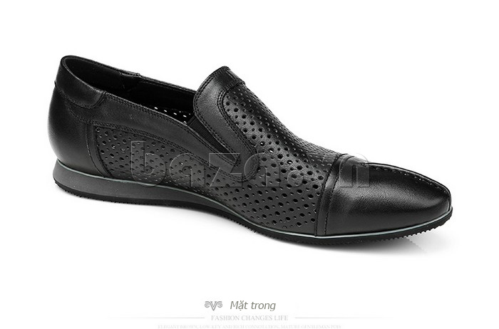 Giày lười nam viền đục lỗ Olunpo XZY1504 tinh xảo