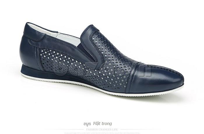 Giày lười nam viền đục lỗ Olunpo XZY1504 cuốn hút