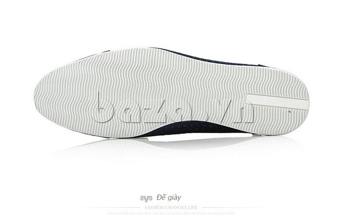 Giày lười nam viền đục lỗ Olunpo XZY1504 chất lượng