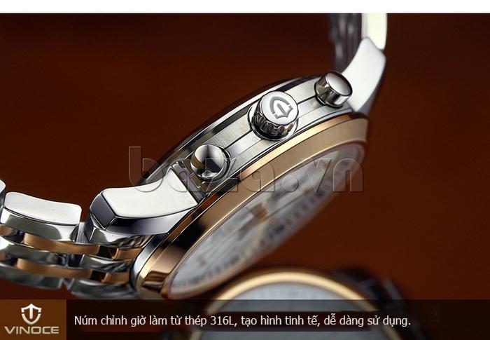 Đồng hồ cơ nam Vinoce V633229L  đẹp