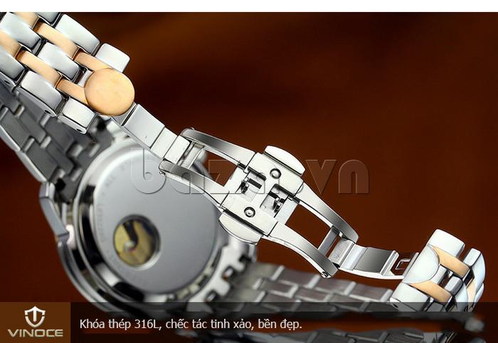 Đồng hồ cơ nam Vinoce V633229L lạ
