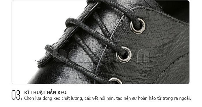 Giày da nam Olunpo QABA1410 công nghệ sản xuất cao cấp