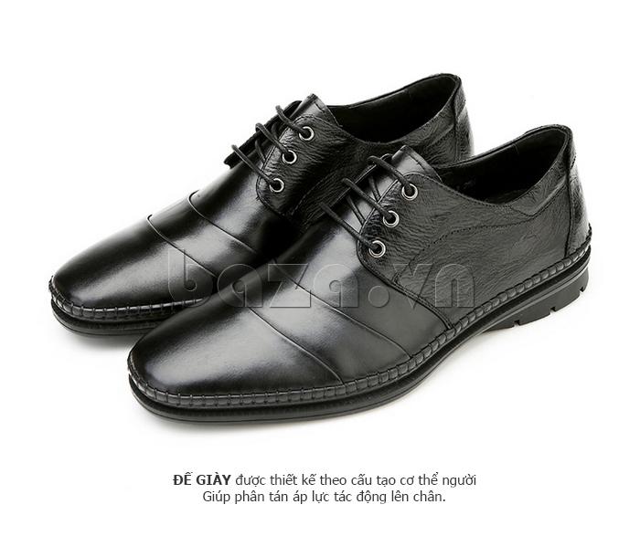 Giày da nam Olunpo QABA1410 đế giày thời trang