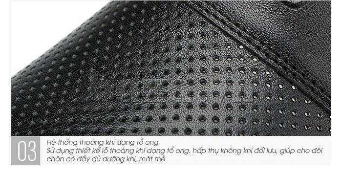 Giày lười nam thời trang Olunpo XZY1506 - kiểu dáng hiện đại