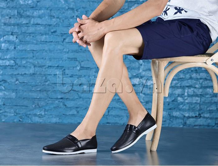 Giày lười nam thời trang Olunpo XZY1506 hiện đại và cuốn hút