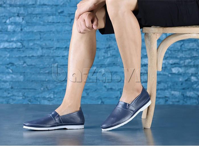 Giày lười nam thời trang Olunpo XZY1506 trẻ trung và hiện đại