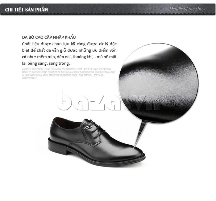 giày da Olumpo QYS1301 được làm từ da bò nhập khẩu