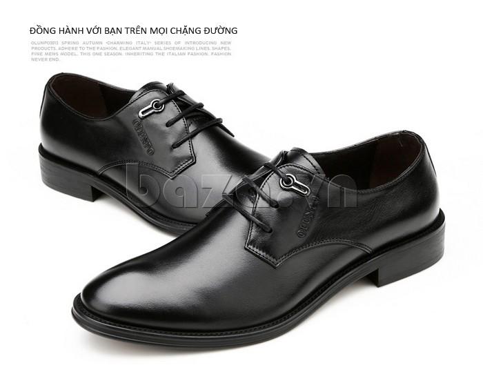 giày da Olumpo QYS1301 đồng hành cùng với bạn trên mọi chặng đường