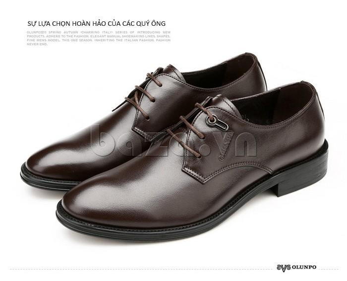 giày da Olumpo QYS1301 là sự lựa chọn hoàn hảo cho các quý ông