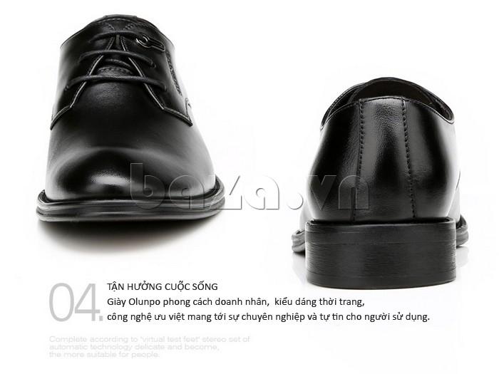 giày da Olumpo QYS1301 tận hưởng cuộc sống theo từng khoảnh khắc