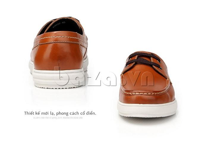 Giầy da nam Olunpo CXYF1401 thiết kế mới lạ và phong cách