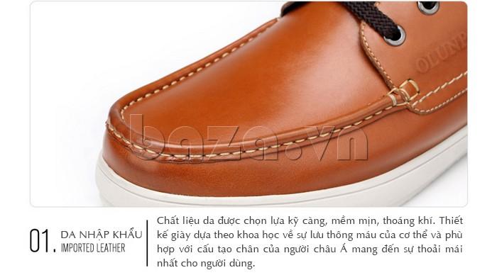 Giày da nhập khẩu chất lượng tuyệt đối