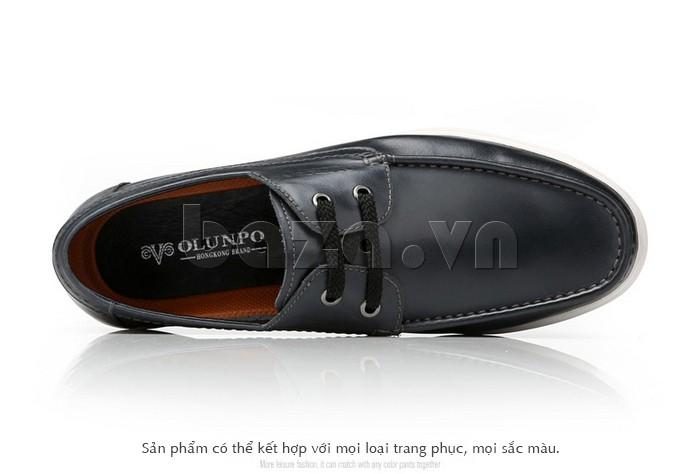 Giầy da nam Olunpo CXYF1401 dễ dàng kết hợp với mọi loại trang phục