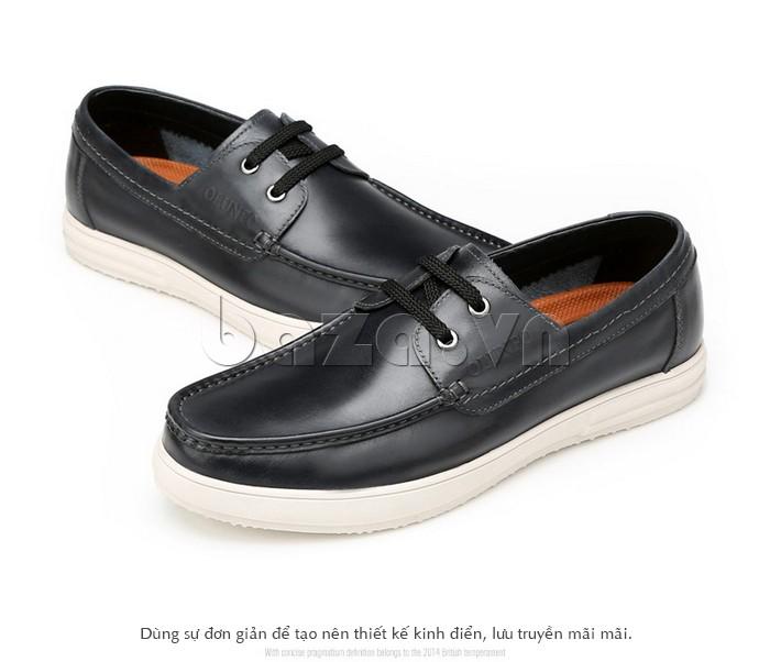 Giày nam Olunpo dùng sự đơn giản để tạo nên thiết kế kinh điển