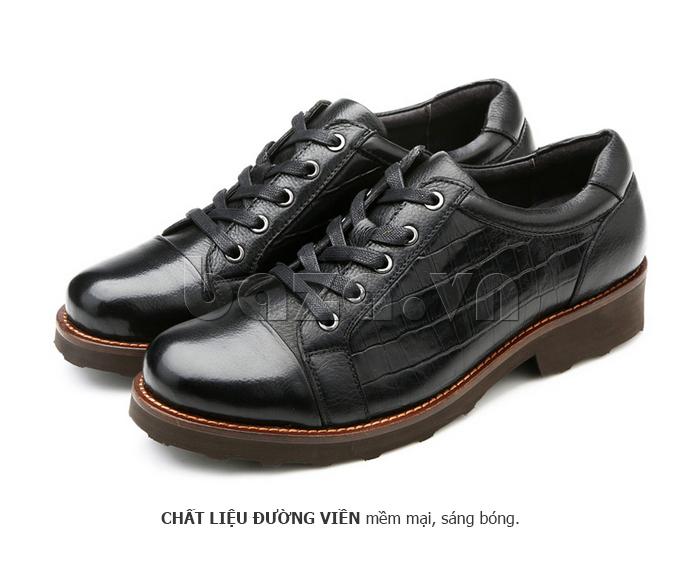Giày da nam Olunpo QZK1405 thời trang