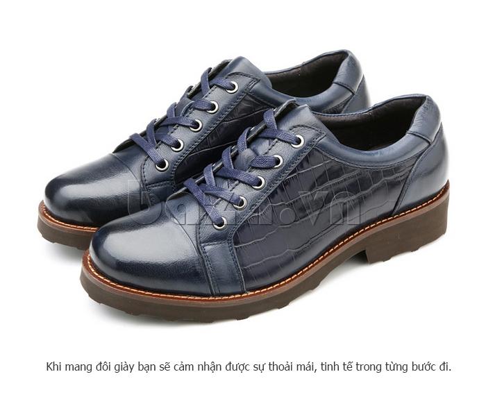 Giày da nam Olunpo QZK1405 vẻ đẹp cá tính