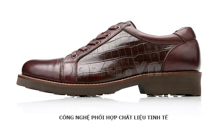 Giày da nam Olunpo QZK1405 vẻ đẹp hiện đại
