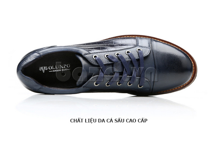 Giày da nam Olunpo QZK1405 ấn tượng và thời trang