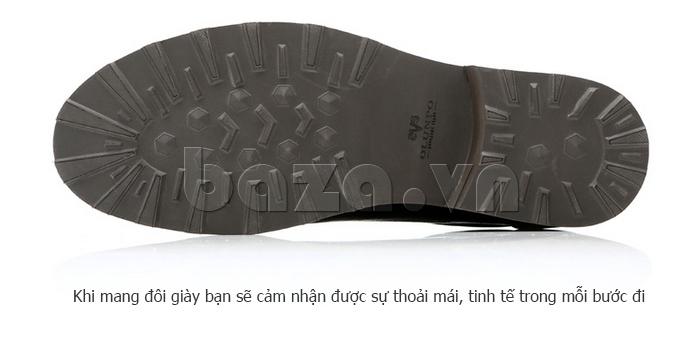 Giày da nam Olunpo QZK1405 nâng niu từng bước đi