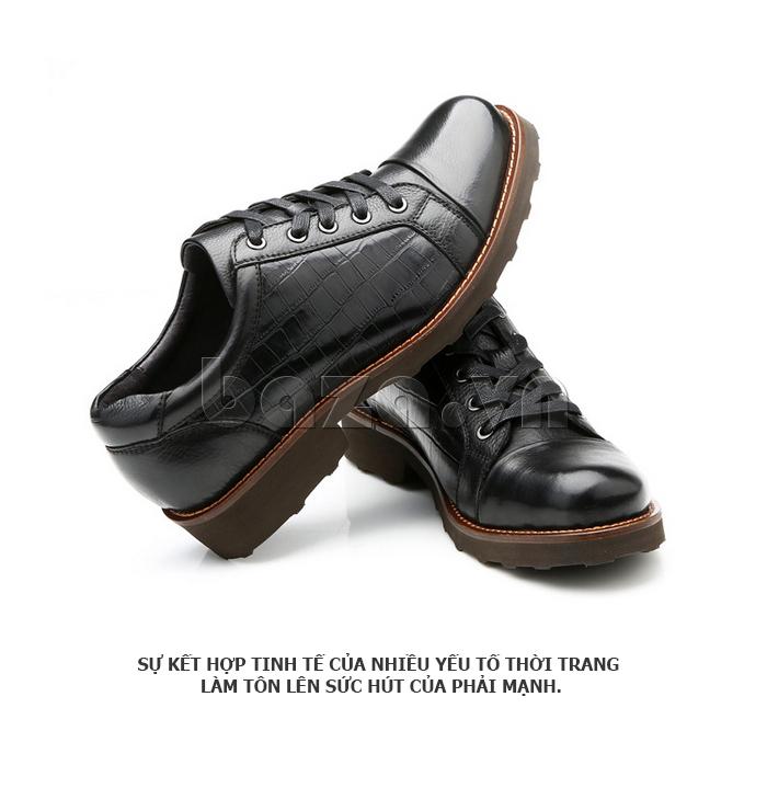 Giày da nam Olunpo QZK1405 quyết định yếu tố của phái mạnh