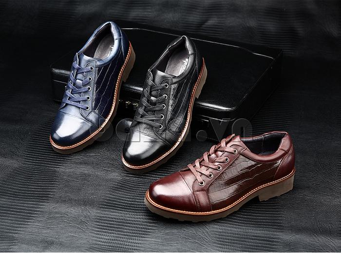 Giày da nam Olunpo QZK1405 thể hiện cá tính của nam giới