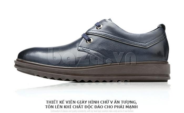 Giày da nam Olunpo QZK1404 sang trọng và đẳng cấp