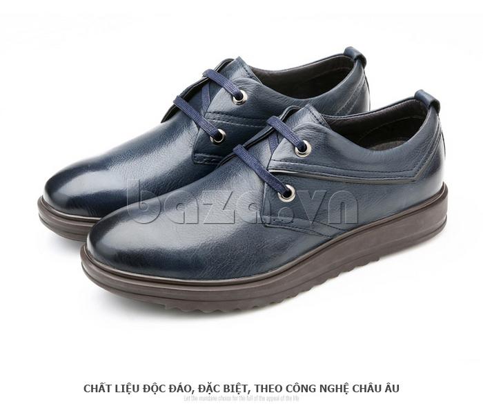 Giày da nam Olunpo QZK1404 chất liệu độc đáo và đặc biệt