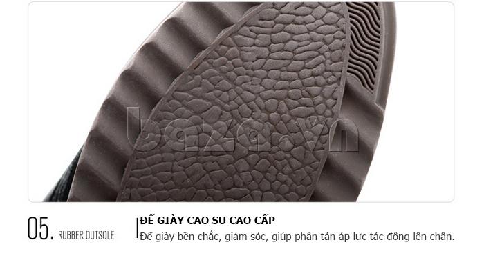 đế Giày da nam Olunpo QZK1404 làm bằng cao su cao cấp