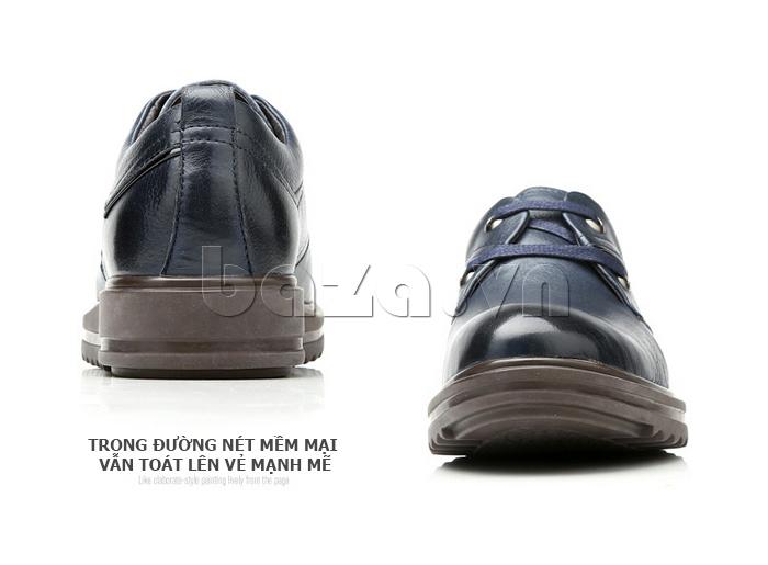 Giày da nam Olunpo QZK1404 tinh tế