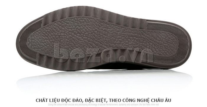 Giày da nam Olunpo QZK1404 sử dụng chất liệu độc đáo và đăc biệt