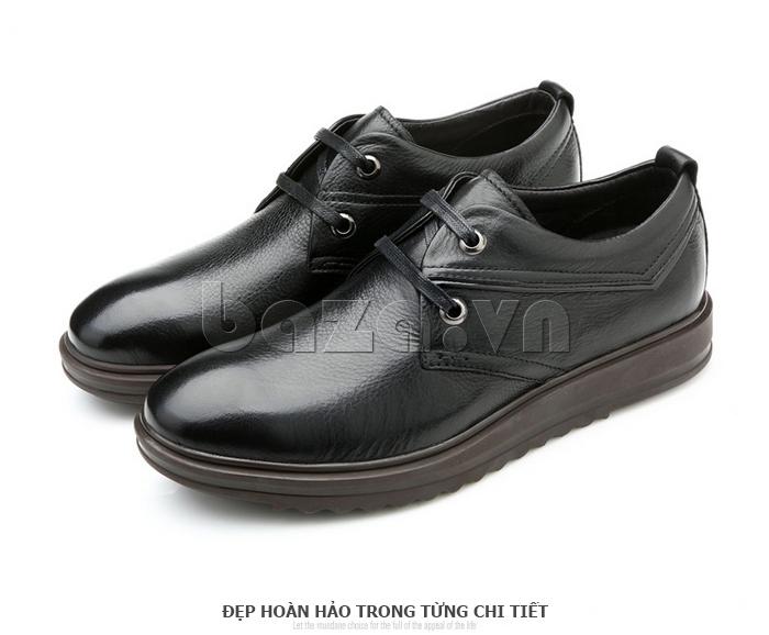 Giày da nam Olunpo QZK1404 đẹp hoàn hảo đến từng chi tiết