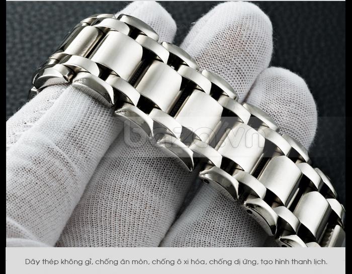 Đồng hồ thời trang Bestdon BD9922G dây thép sáng bóng