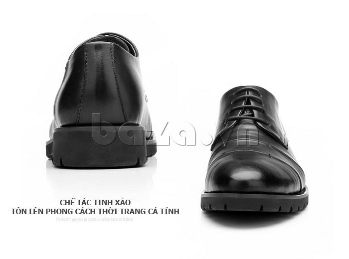 Giày da nam Olunpo QDT1404 tôn lên cá tính cho nam giới