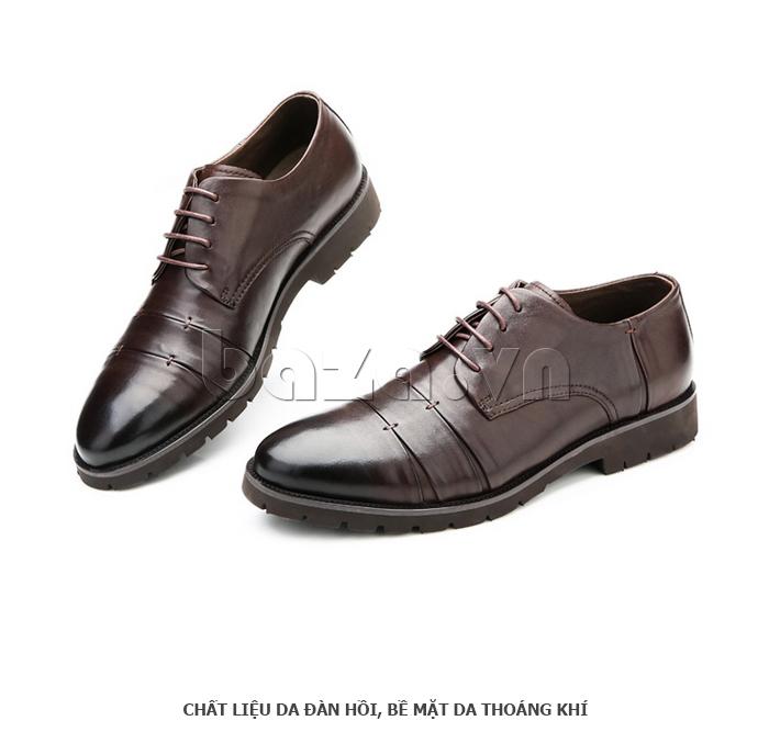 Giày da nam Olunpo QDT1404 kiểu dáng cổ điển