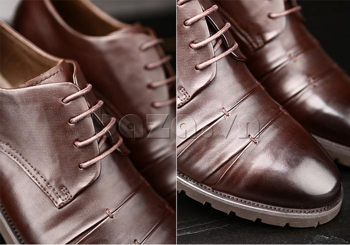 Giày da nam Olunpo QDT1404 sang trọng cổ điển
