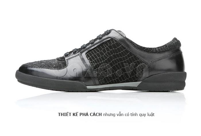 Giày da nam Olunpo QHT1425 ấn tượng bởi sự phá cách
