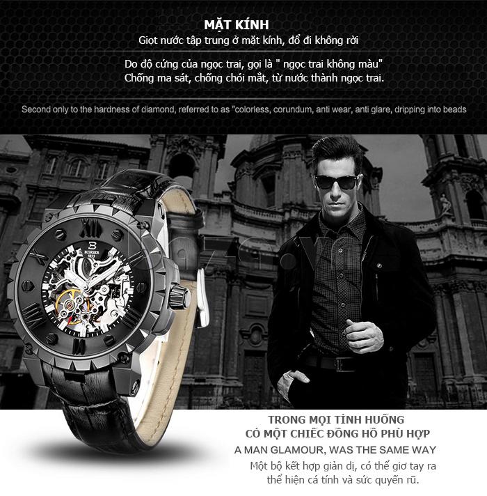 Đồng hồ nam thời trang Binger BG001