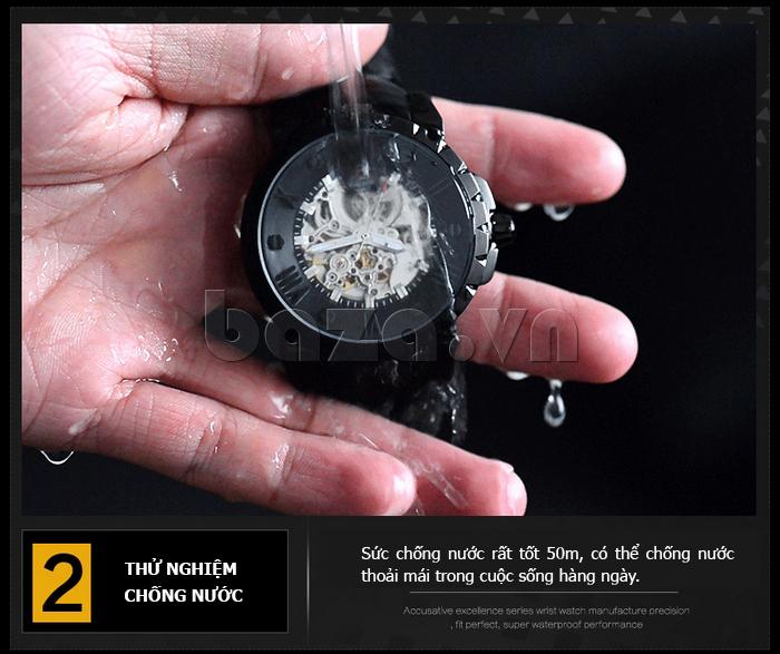 Đồng hồ nam chống nước Binger BG001