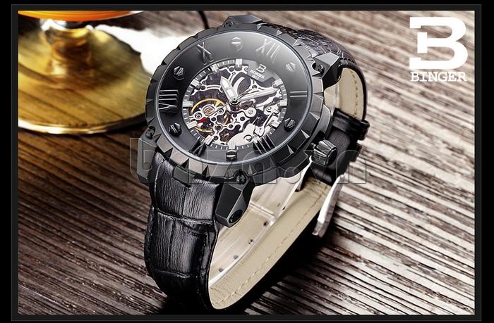Đồng hồ nam Binger BG001 phong độ