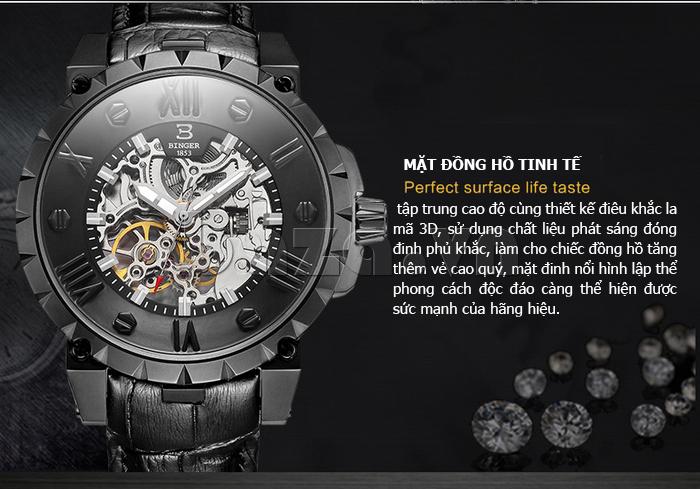 Đồng hồ hiệu nam Binger BG001
