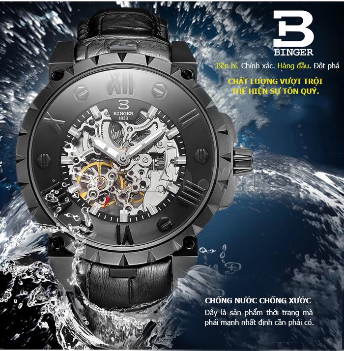 Đồng hồ nam đạt chuẩn Binger BG001