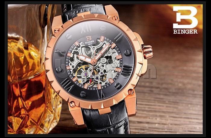 Đồng hồ nam Binger BG001 2